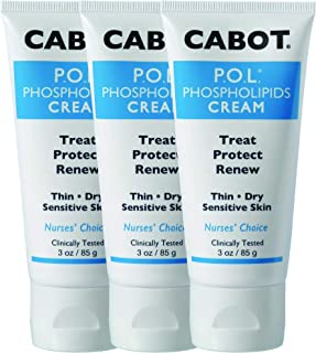 CABOT P.O.L. Phospholipids Cream For Dry Thin Skin-3 Pack