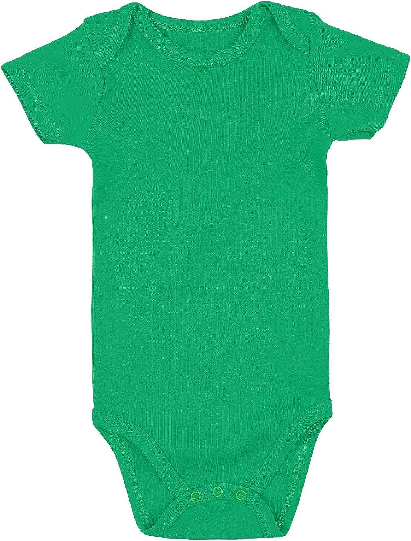Baby Bodysuit - Short Sleeve Onesie for Infant Girls Boys 0-3 Months