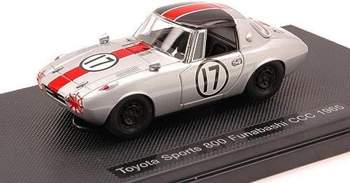 deportes calientes Ebbro EB44787 Toyota Sports 800 FUNABASHI CCC N.17 N.17 N.17 1965 1 43 MODELLINO Die Cast Compatible con  punto de venta barato