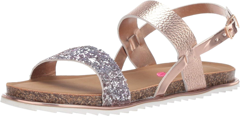 Steve Madden Unisex-Child Flat Jslim supreme Sandal Special sale item