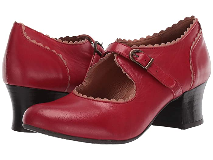 60s Shoes, Boots | 70s Shoes, Platforms, Boots Miz Mooz Francine Red Womens  Boots $134.99 AT vintagedancer.com