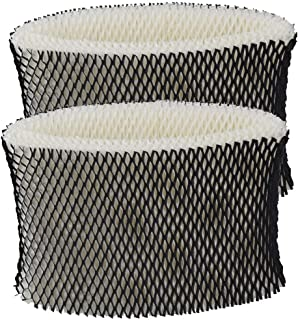 Fluar 2pcs Replacement for HWF64 Humidifier Filter B fit Holmes HM1730, HM1745, HM1746, HM1750, HM2200, Bionaire BWF64, BWF64CS, BCM1745, BCM1745-C, BCM2200, Sunbeam SCM1745, SCM1746, SF213