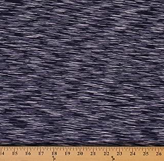 4-Way Stretch Strata Performance Purple Space Dye Knit Stretch Fabric by The Yard (8938P-6MPurple)