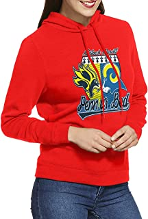 DGGE Penn Ar Bed Womens Hoodies Sweatshirts Clothing and Sports