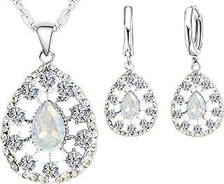 7f6560e0a89e Amazon.es: Piedra Blanca - Juegos de joyas / Mujer: Joyería