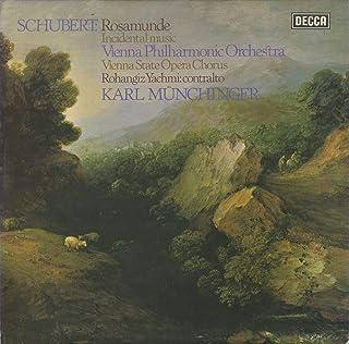 シューベルト:「キプロスの女王ロザムンデ」Op.26(10曲),「魔法の竪琴」序曲 DECCA:SXL 6748 UK ED4 Original