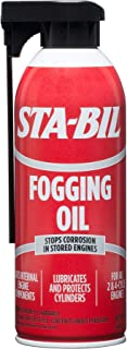 Best STA-BIL (22001) Fogging Oil - Stops Corrosion In Stored Engines - Lubricates And Protects Cylinders - Coats Internal Engine Components - For All 2 and 4 Cycle Engines, 12 oz. Review
