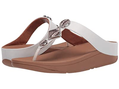 FitFlop Leia Toe Post (Urban White) Women