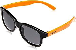 Óculos Escuros, Clingo, Preto/Laranja