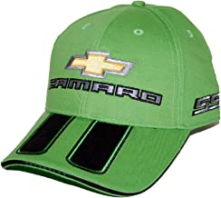 HEM HIGH-END MOTORSPORTS Synergy Green Hat for Camaro SS with Black Rally Stripes