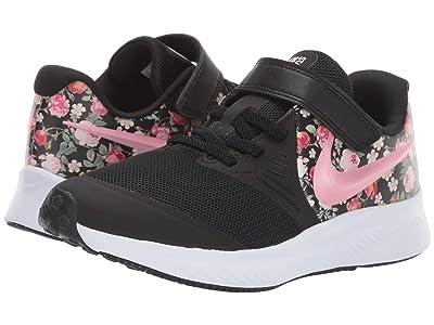 Nike Kids Star Runner (Little Kid) (Black/Pink Tint) Girls Shoes