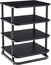 Sanus AV Media Stand with Built-in Cable Mangement & Adjustable Feet - Heavy Duty Design Holds 400lbs of Audio/Video Components - Features Simple 15-Minute Install & Includes All Hardware