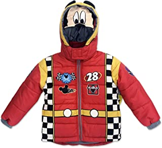 Dreamwave Toddler Boy Authentic Character Winter Puffer Jacket with Hood