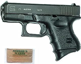 Nimrod's Wares Pearce Grip Glock 26 27 33 39 Grip Extension PG-26 Microfiber Cloth