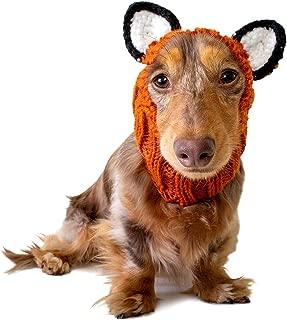 Zoo Snoods Fox Dog Costume - Neck and Ear Warmer Headband for Pets