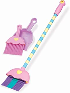 Play Circle by Battat – Mighty Tidy Sweeping Set – 4-piece Colorful Toy Broom and Dustpan Set – Toy Cleaning Set for Toddlers Age 3 Years and Up