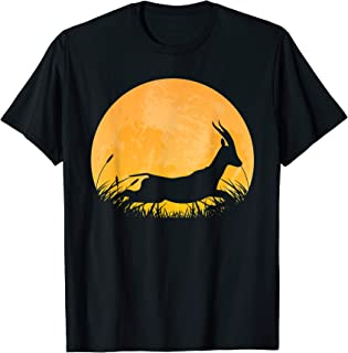 Gazelle Easy Halloween Outfit Antelope Moon Costume Gift T-Shirt