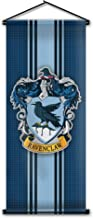 Harry Potter Style Striped Banner - Ravenclaw Flag 43in x 16in - High Quality Wall Scroll - Ready to Hang - Perfect Barware Man Cave Gift - Unique HP Collectible Accessories