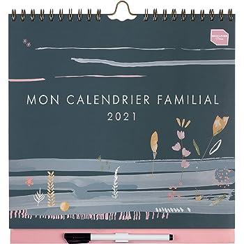 Calendrier Familial 2021 Boxclever Press Mon Calendrier Familial 2020 2021. Organiseur