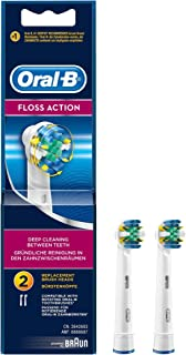 Oral-B Floss Action Replacement Brush Head 2 count