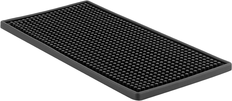 HOZEON 12 x 6 Inches Rubber Cheap Very popular! sale Non Slip Bar Service Mat