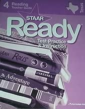 STAAR Ready Test Practice & Instruction Reading 4 Teacher Guide (Texas Edition)
