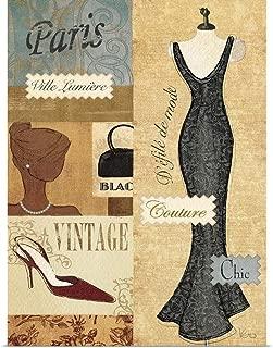 GREATBIGCANVAS Poster Print Couture Paris II by Veronique Charron 23