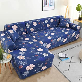 L-shape Couch Cover High Stretch Sofa Slipcover,elastic Sofa Cover Universal Couch Shield Cushion Furniture Protector For ...