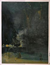 Gifts Delight Laminated 21x27 Poster: James McNeill Whistler - Nocturne in Black and Gold The Falling Rocket - James Abbott McNeill Whistler