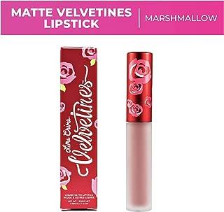 Lime Crime Velvetines Liquid Matte Lipstick, Marshmallow - Nude Pink - French Vanilla Scent -Long-Lasting Velvety Matte Lipstick - Won't Bleed or Transfer - Vegan