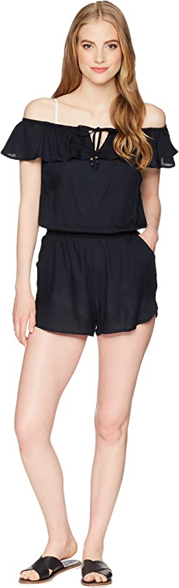 Western Holiday Romper Cover-Up