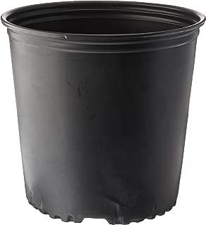 Viagrow 2 Gal. Plastic Nursery Pots (7.57 liters) 10-Pack