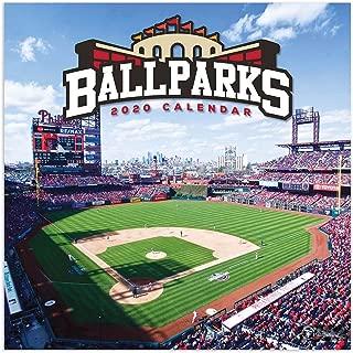 2020 Ballparks Wall Calendar