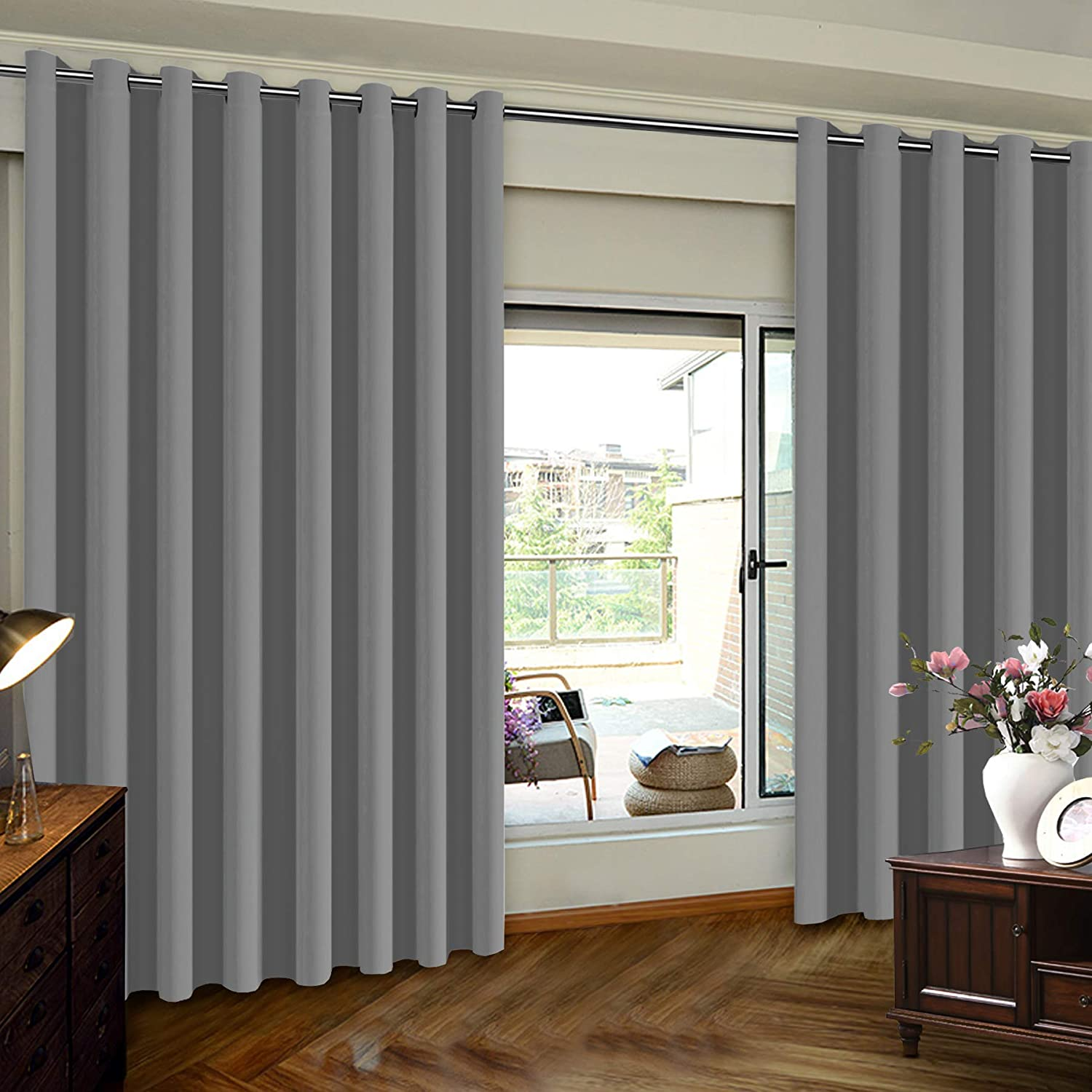 Turquoize Blackout Curtains Be super welcome Max 49% OFF Extra Door Sliding Wide for