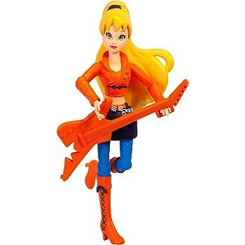 Winx 3.75 Action Dolls Fairy Concert Aisha Jakks 44223