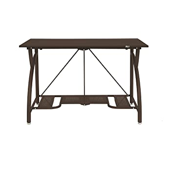 Amazon.com: Origami Multi-Purpose fodable Steel frame Table,Sturdy ... | 350x350