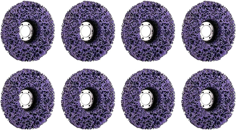 Luxury goods Cutting wheele 8Pcs 125Mm Poly Strip Abrasive Paint Disc R Ranking TOP2 Wheel