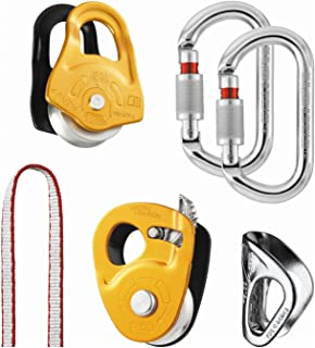 PETZL - KIT SECOURS Crevasse, Kit for Hauling and Self-Rescue from Crevasses