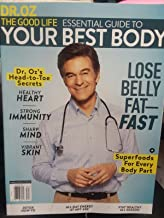 Dr Oz Magazine The Good Life Essential Guide to Your Best Body 2018