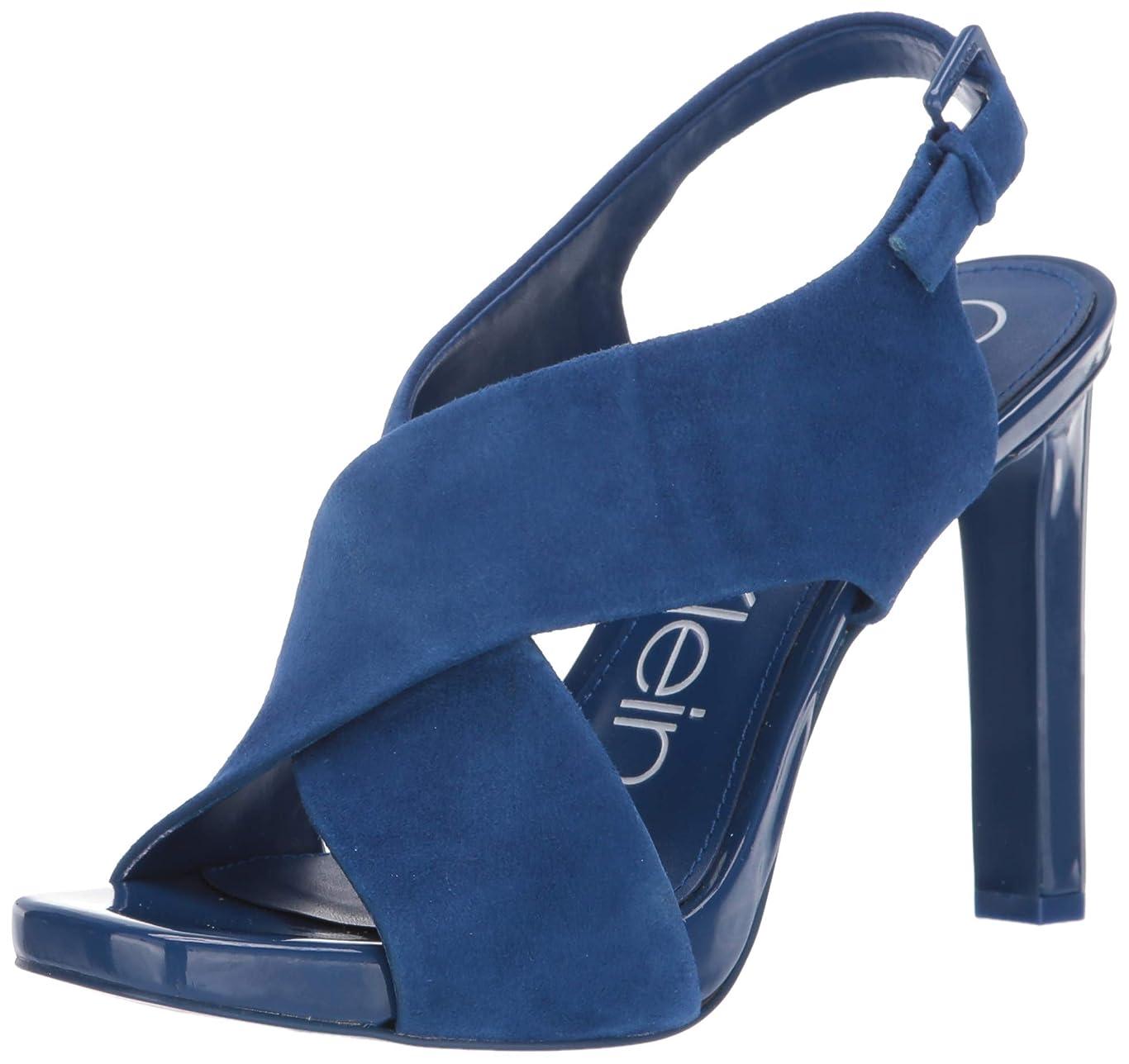アナロジー裁量沿って[Calvin Klein] レディース US サイズ: 5.5 M US カラー: ブルー