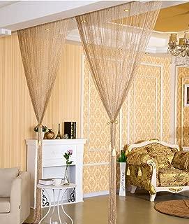 Best silk string curtains Reviews