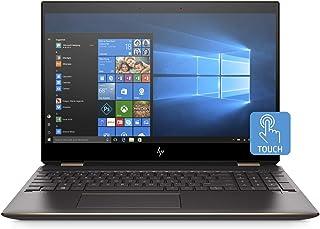 HP Spectre x360 15-df0004ne, 2 in 1 Laptop, Intel Core i7-8565U, 15.6 Inch, 1TB SSD, 16GB RAM, Nvidia Geforce MX150 (4GB Graphics), Win 10, Eng-Ara KB, Silver