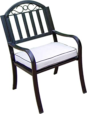 Oakland Living Corporation Hometown Arm Chair with Cushion