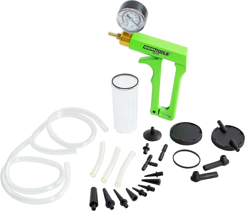 OEMTOOLS 25136 One Man Brake Bleeder & Vacuum Pump Test Kit