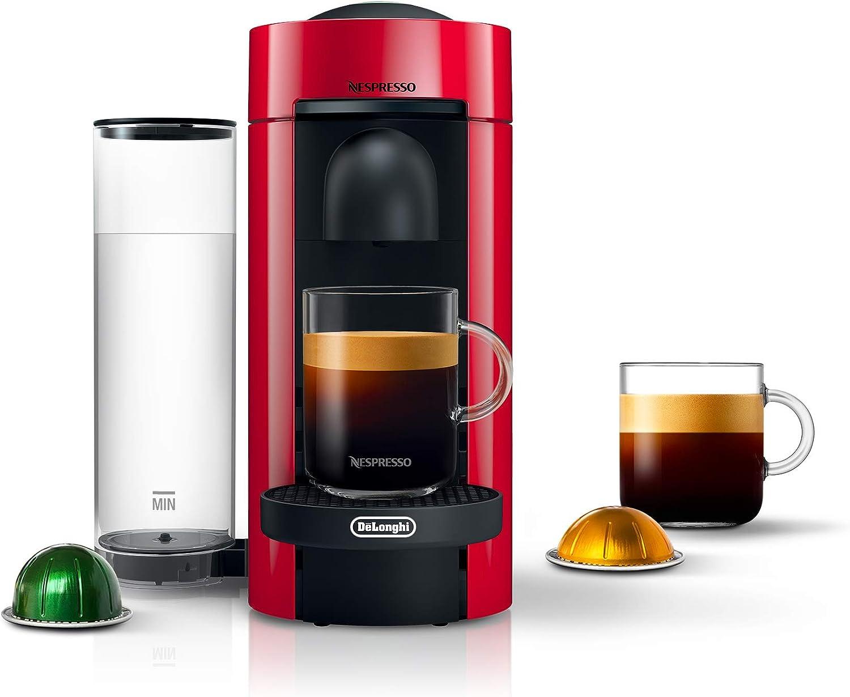 Buy Nespresso Vertuo Plus Coffee And Espresso Maker By De Longhi Cherry Red Online In Indonesia B01nbj2ut5