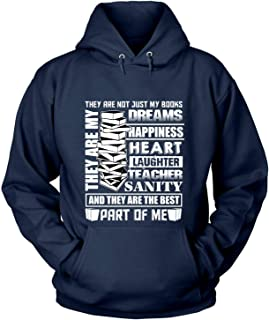 Men's They are Not Just My Books Hoodies, They are My Dreams T Shirt
