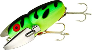 Heddon Crazy Crawler Lure (Fluorescent Green Crawdad, 2 3/8-Inch)