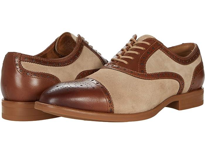 1930s Men's Shoe Styles, Art Deco Era Footwear Kenneth Cole New York Futurepod Lace-Up $101.27 AT vintagedancer.com