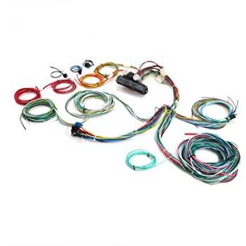 Amazon.com: Keep It Clean 689633 Wiring Harness (Ultimate 15 Fuse 12V  Conversion 46 1946 Ford Station wagon-Standard,Deluxe,Super,Woody,Woodie):  AutomotiveAmazon.com