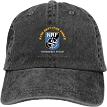 Reality And Ideals NATO Response Force Adjustable Sport Jeans Baseball Golf Cap Hat Unisex Style